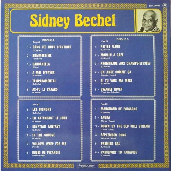 sidney bechet le double disque d'or de sidney bechet