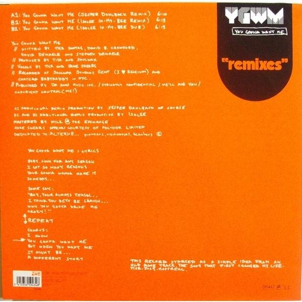 Tiga You Gonna Want Me (Remixes)