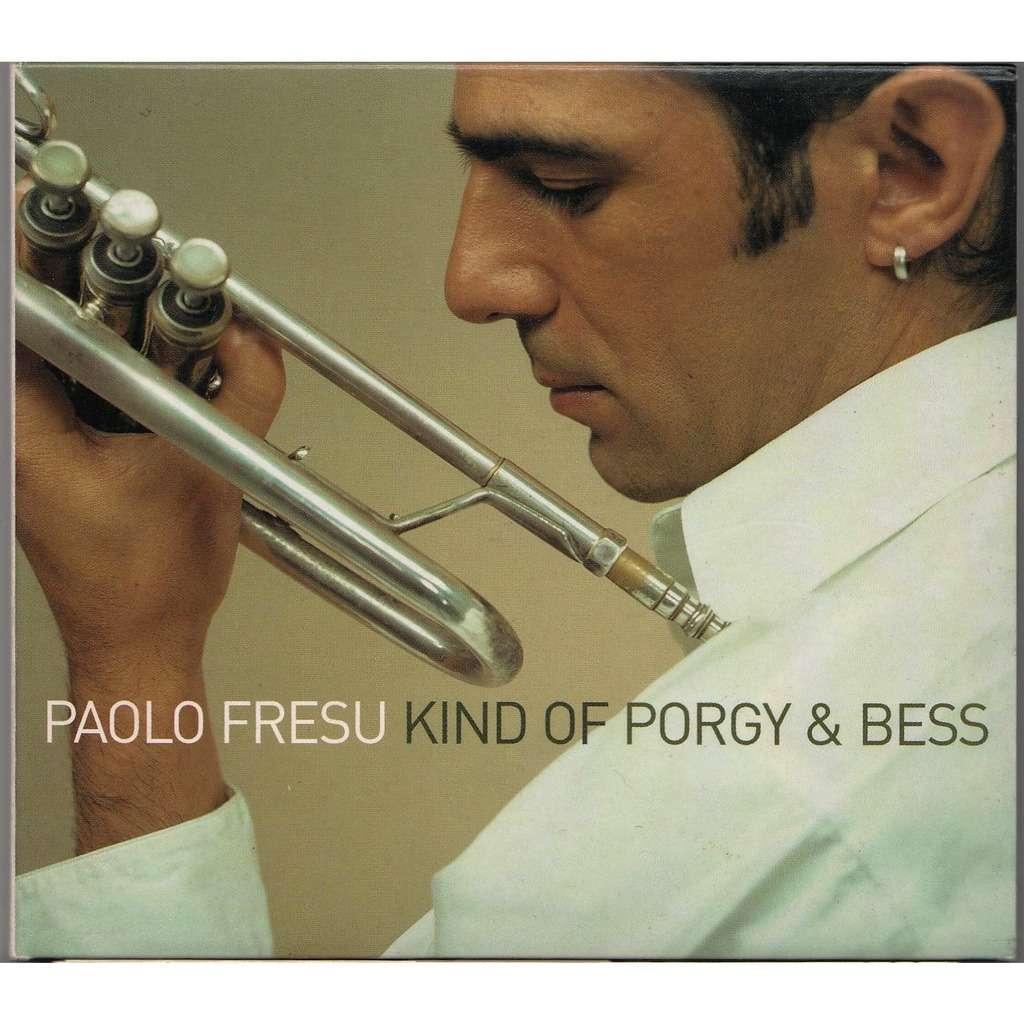 Paolo Fresu Kind Of Porgy & Bess (Euro 2002 original 13-trk CD album 3-way gf digipack ps)