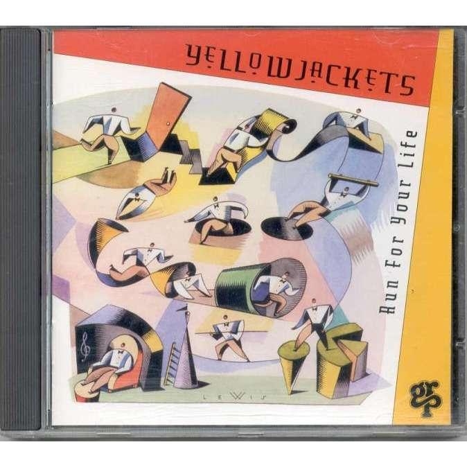 Yellow Jackets Hun For Your Life (German 1994 original 9-trk CD full ps)
