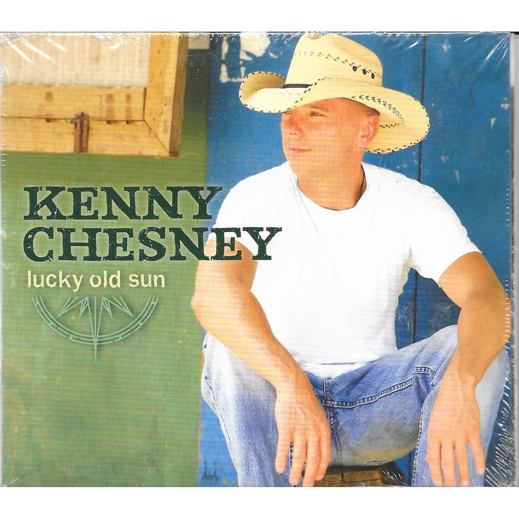 Lucky old sun by Kenny Chesney, CD with louviers - Ref:118237863