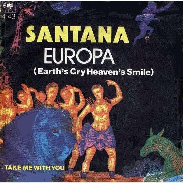 SANTANA EUROPA (EARTH`S CRY HEAVEN`S SMILE)
