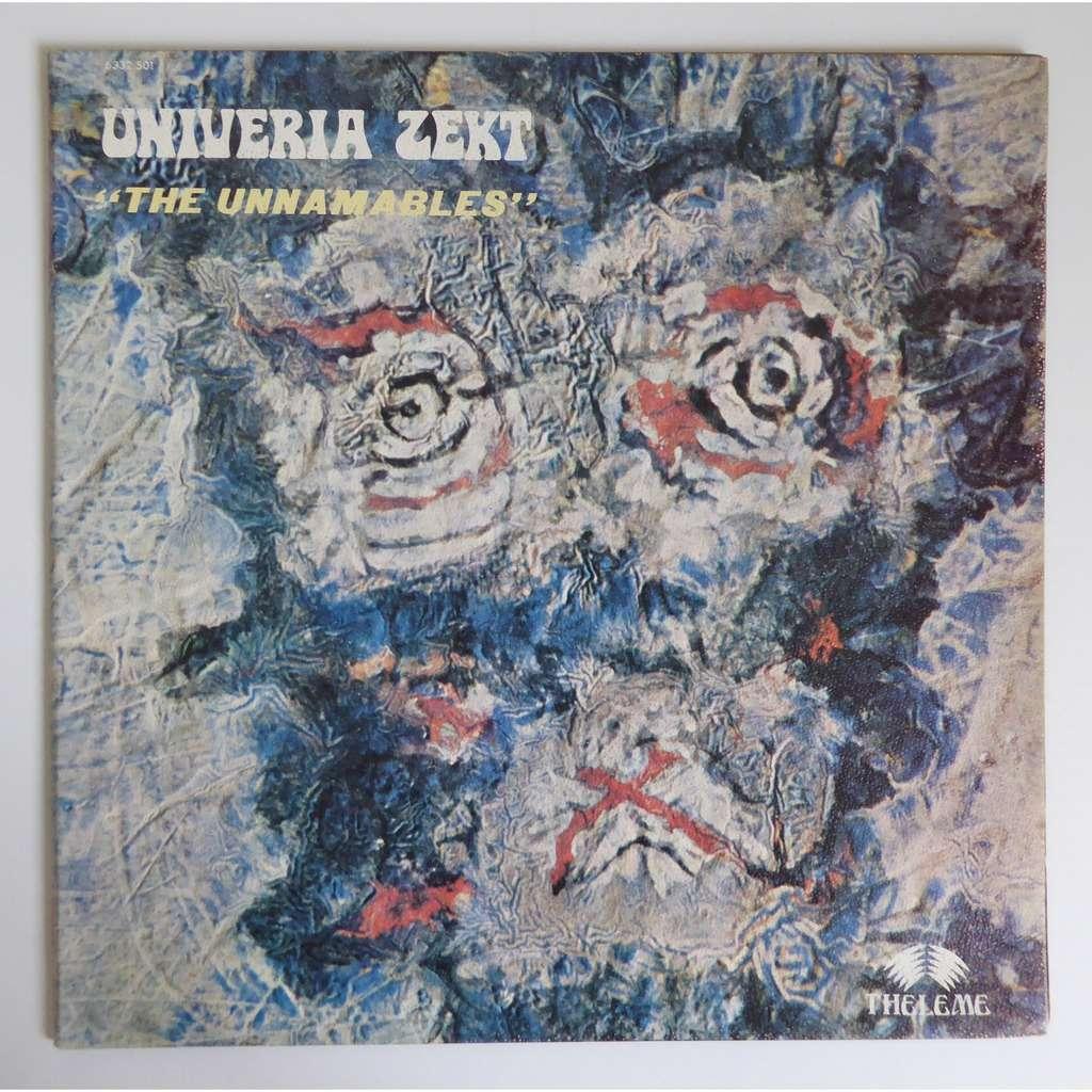 univeria zekt The Unnamables