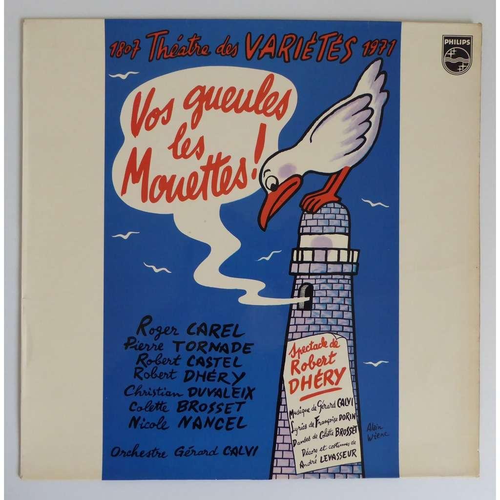 Gérard Calvi - Théâtre Des Variétés Vos Gueules Les Mouettes