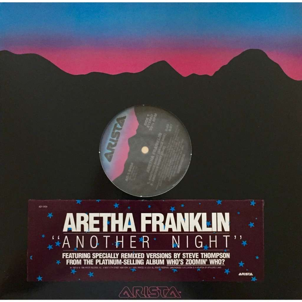 Aretha franklin another night