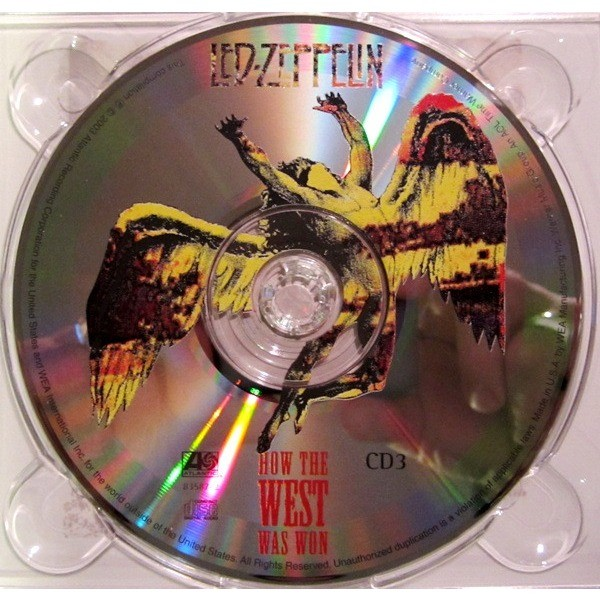 How The West Was Won By Led Zeppelin Cd X 3 With