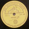 THE JAZZ RIVERS - Chilenje jive / Kabwata jive - 78 rpm
