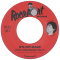 SYLVIN MARC - Listen To Something About Soul - 45T (SP 2 titres)