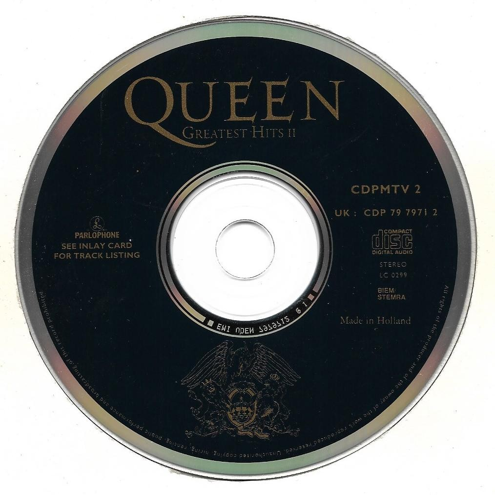 Greatest Hits Ii By Queen Cd With Kawa84 Ref 117775528