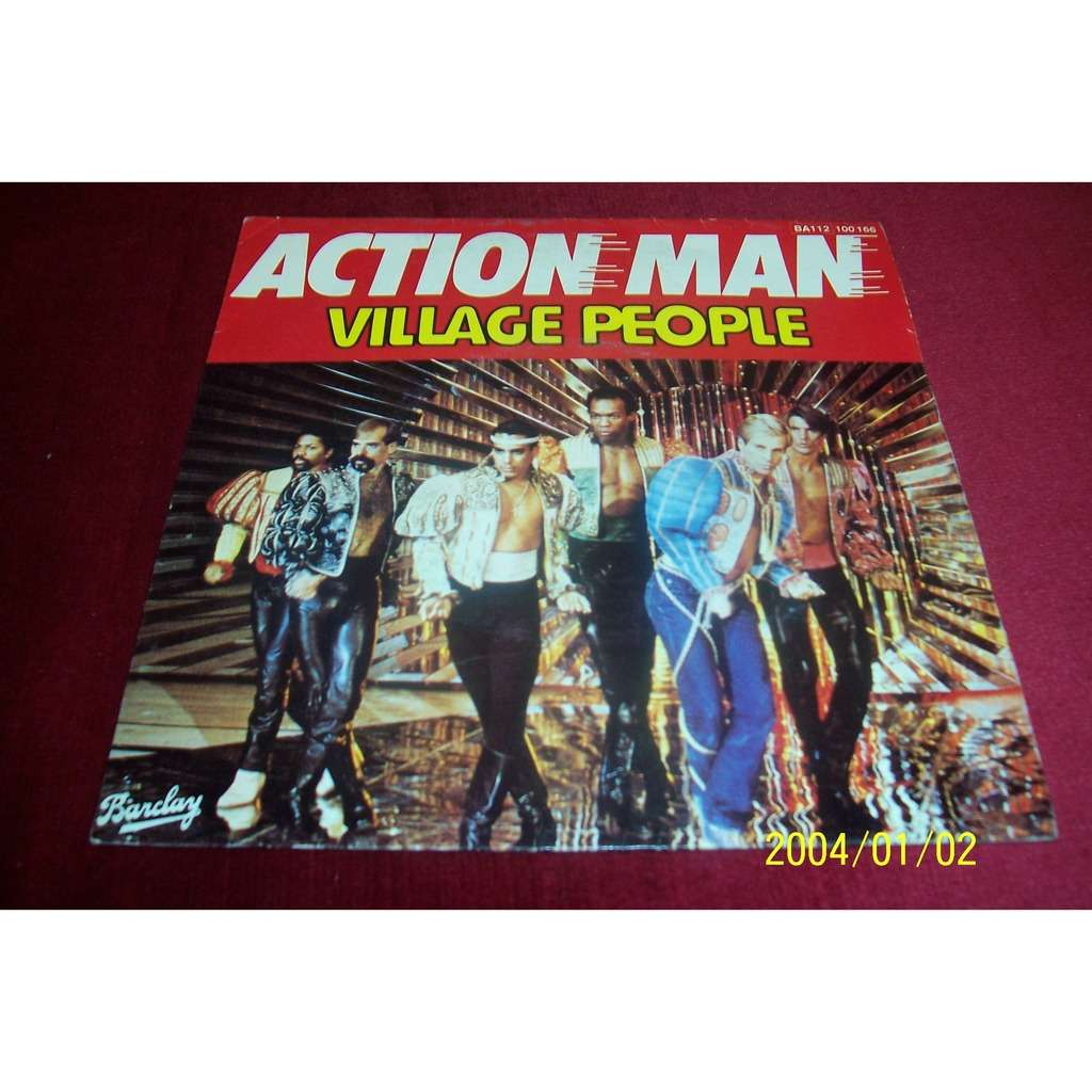 VILLAGE PEOPLE ACTION MAN / JUNGLE CITY