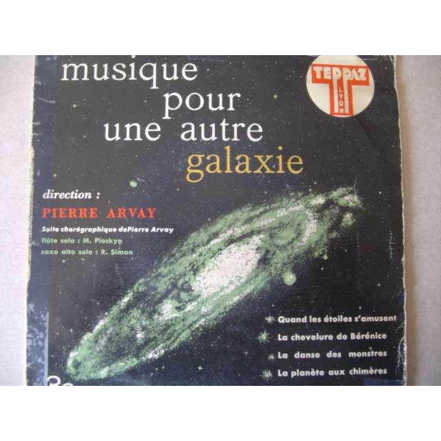 PIERRE ARVAY Musique Pour Une Autre Galaxie (suite chorégraphique - Flute : M. Plockyn . Saxo alto : R. Simon