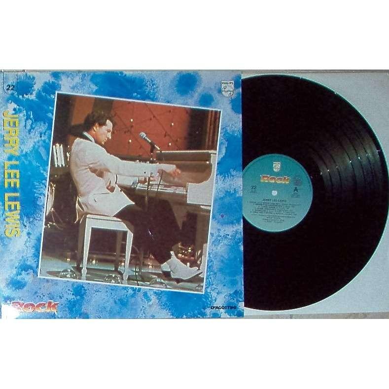 Jerry Lee Lewis Il Rock (Italian 1989 12-trk promo LP absolutely unique ps)