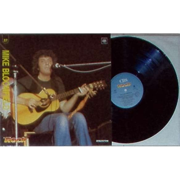 Mike Bloomfield Il Rock (Italian 1989 promo 8-trk LP absolutely unique ps)