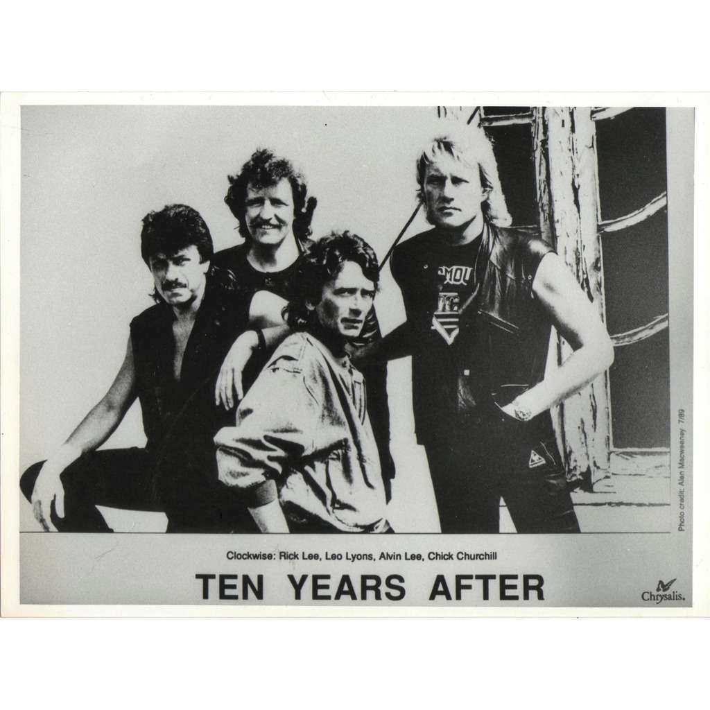 Ten Years After Ten Years After (UK 1989 promo 'Chrysalis' Press-Kit photo!!)