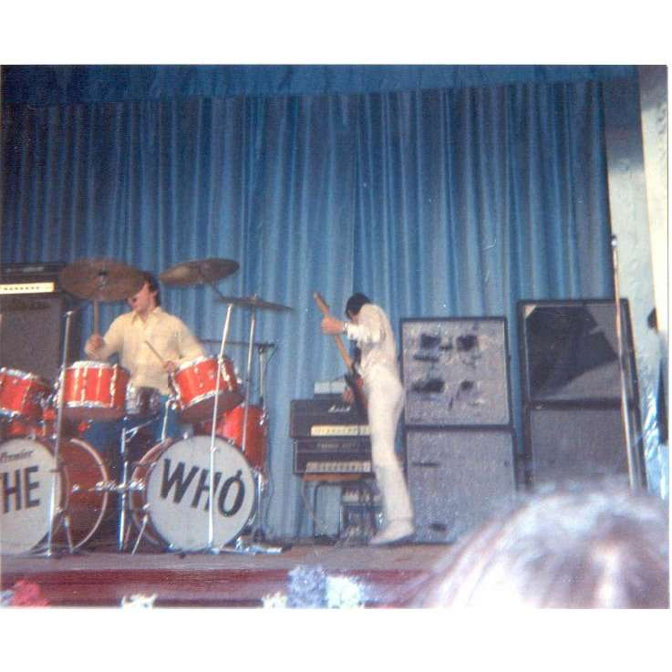 the who Who in Sweden #2 (Italian 'magazine archive' promo Press-kit large live photo)