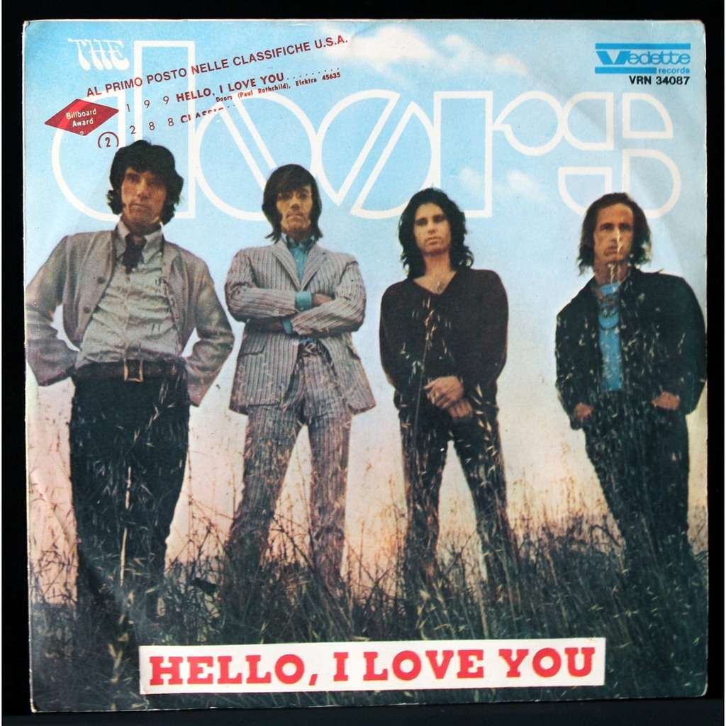 The Doors Hello I Love You  sc 1 st  CD and LP & Hello i love you by The Doors SP with onairam - Ref:118245337