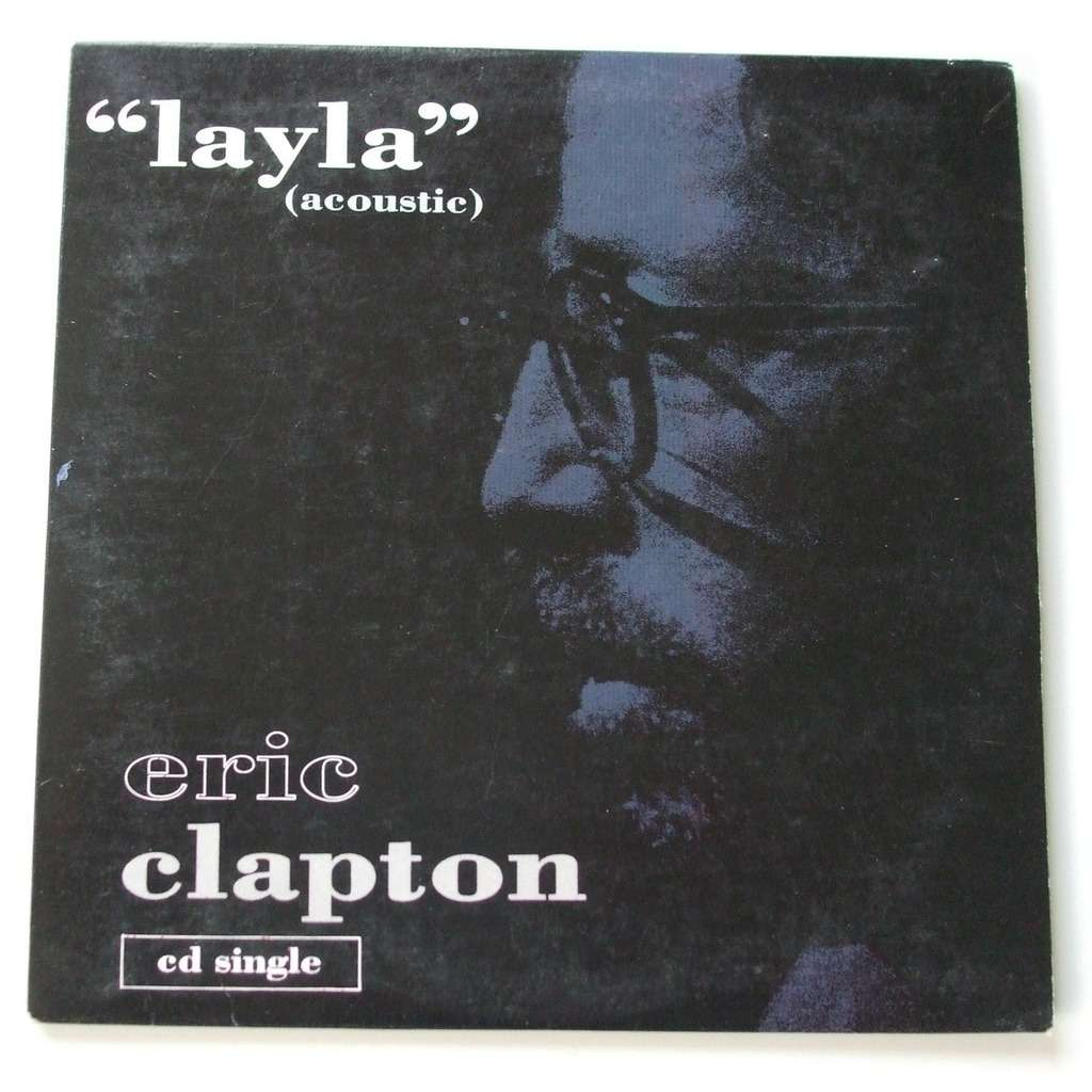 Layla Acoustic Version By Eric Clapton Cds With Dom88