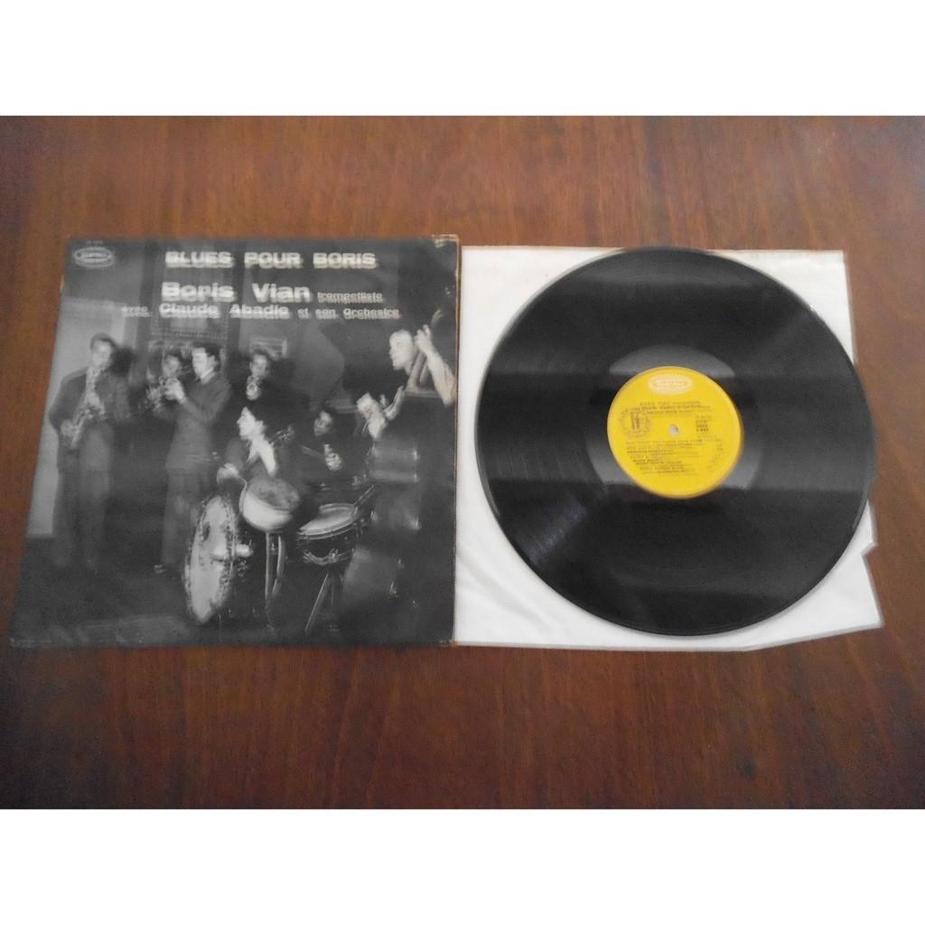 boris vian Avec Claude Abadie Et Son Orchestre blues pour boris