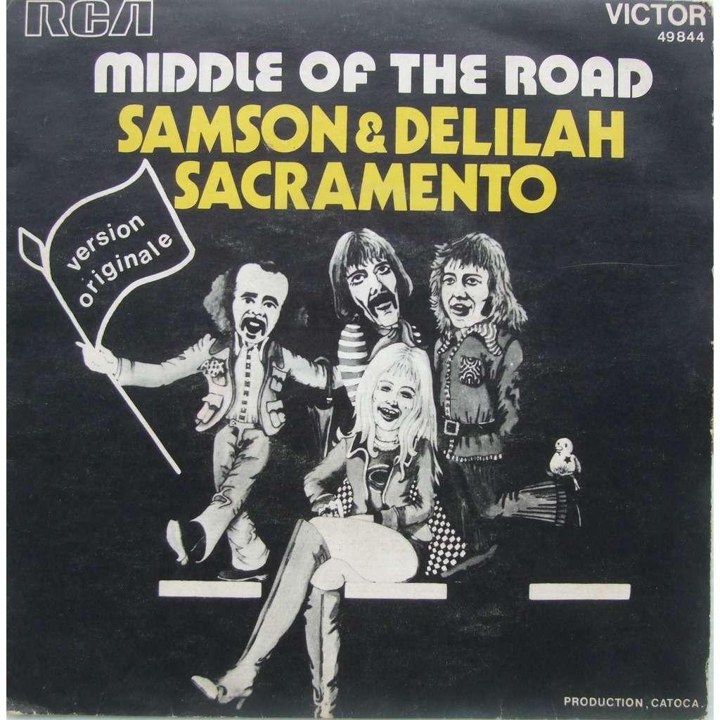 middle of the road samson & dalilah / sacramento (avec languette)