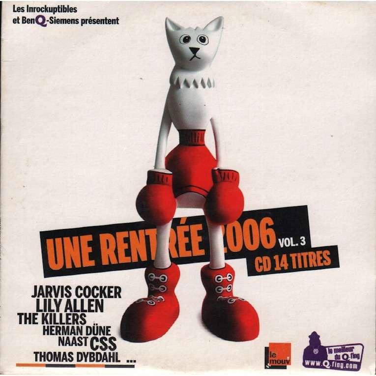 various artists les inrockuptibles présentent une rentrée 2006 vol 3 cd 14 titres