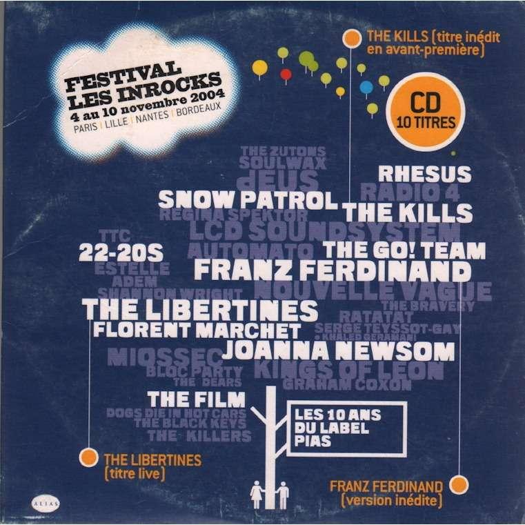 various artists festival les inrocks 2004 - 10 titres