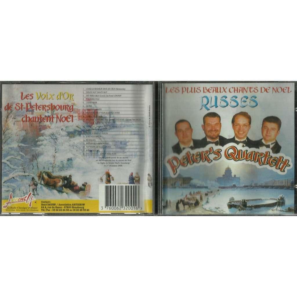 peter's quartett Les plus Beaux chants de Noel Russes