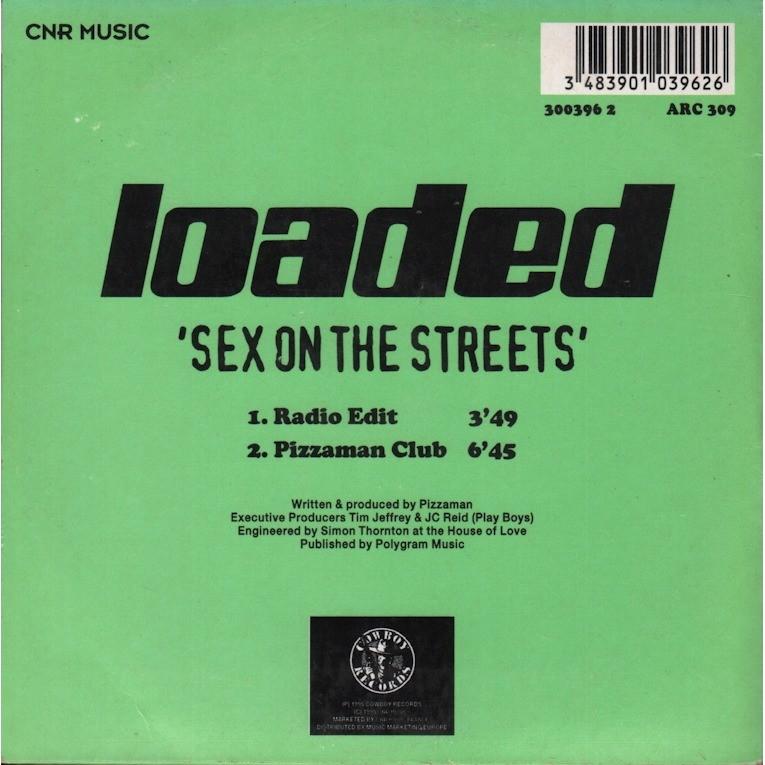 Pizzaman Sex on the Streets / pizzaman club