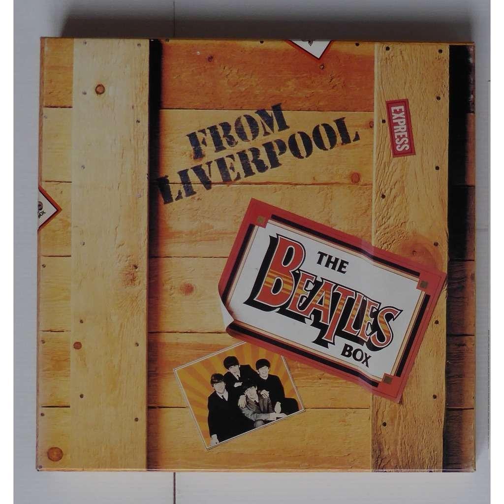 the beatles box from liverpool coffret 8lp livret by the beatles lp box set with ouioui14. Black Bedroom Furniture Sets. Home Design Ideas