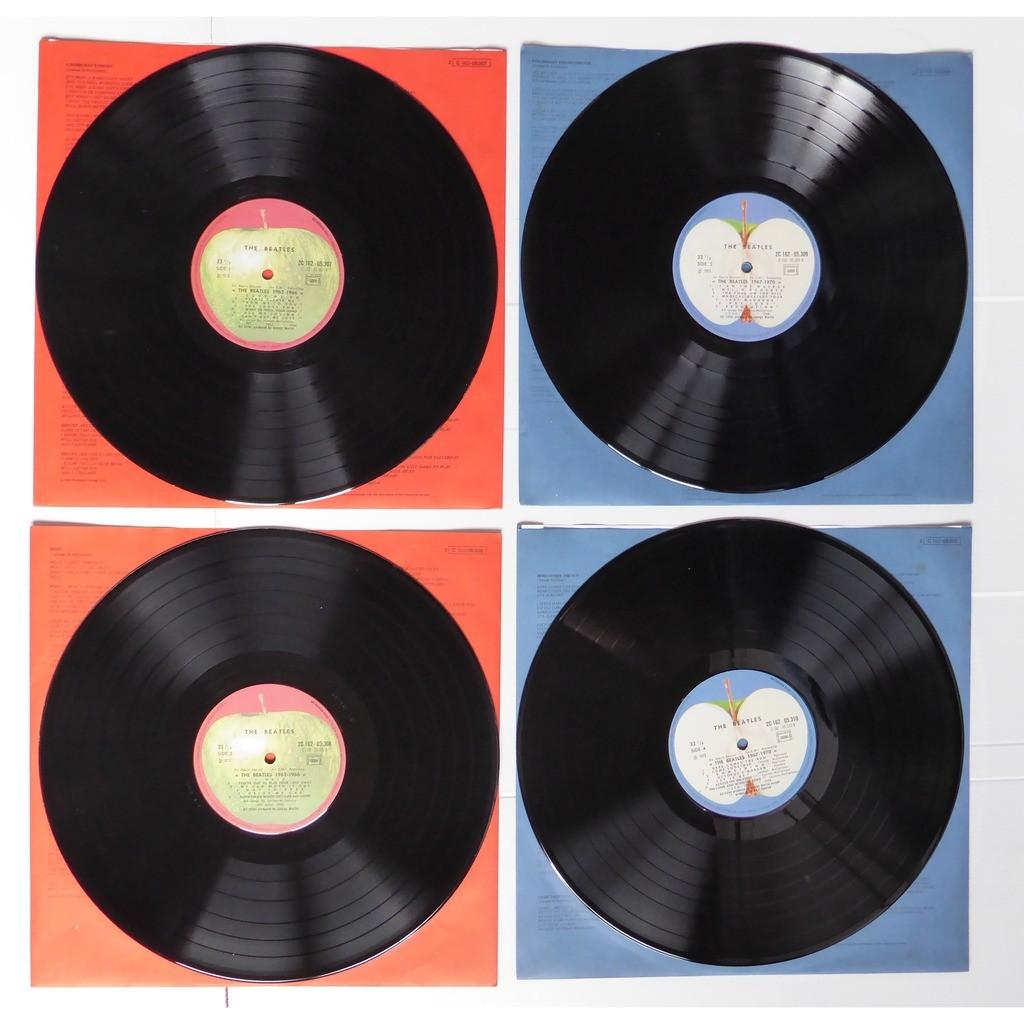 the beatles 1962-1966 / 1967-1970 coffret 4LP
