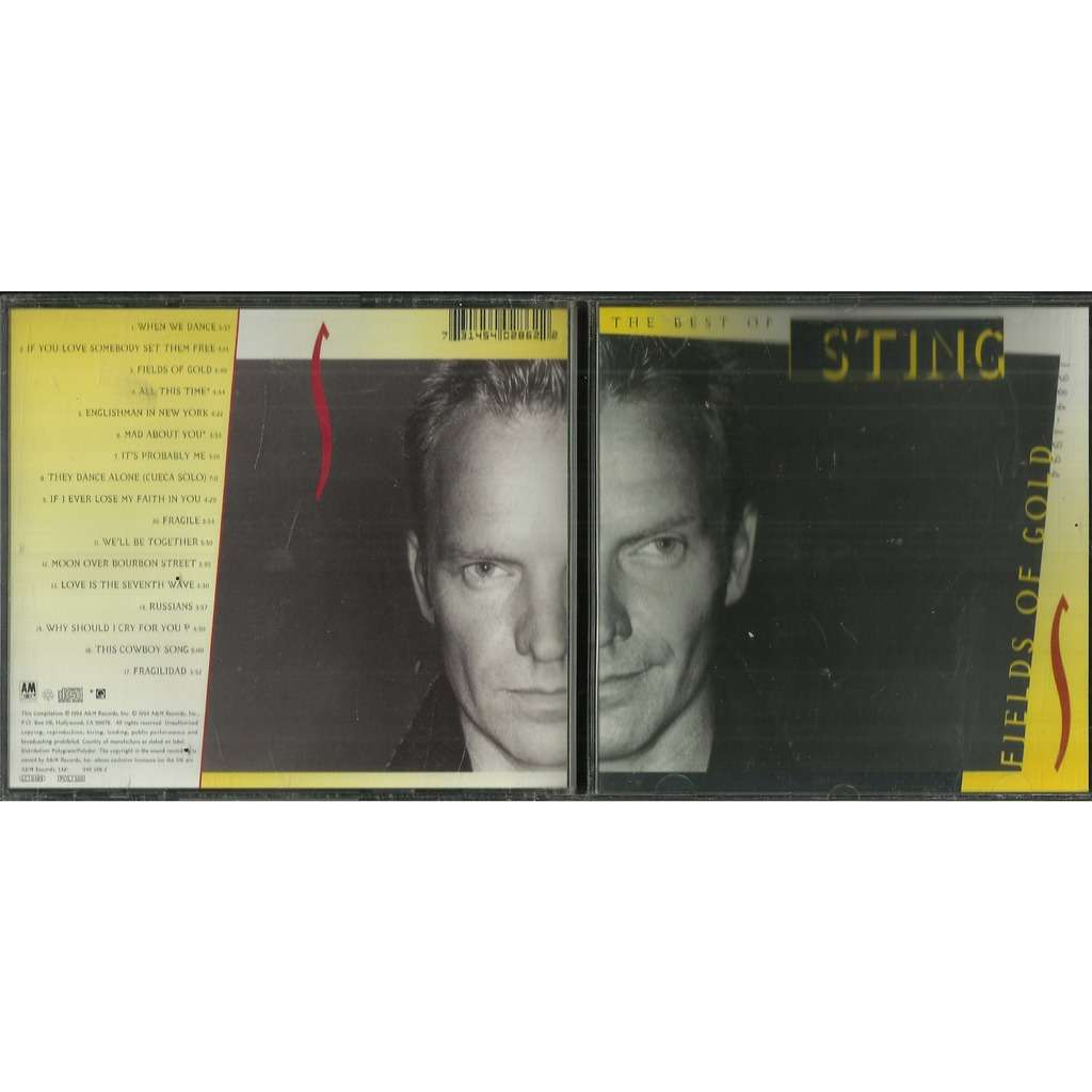 Sting Fields Of Gold (The Best Of Sting 1984 - 1994)