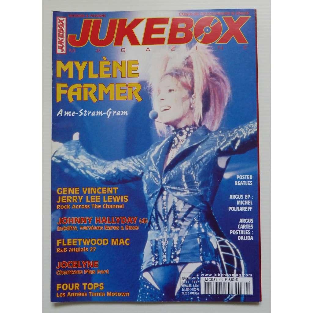 juke box magazine mylène farmer n°179