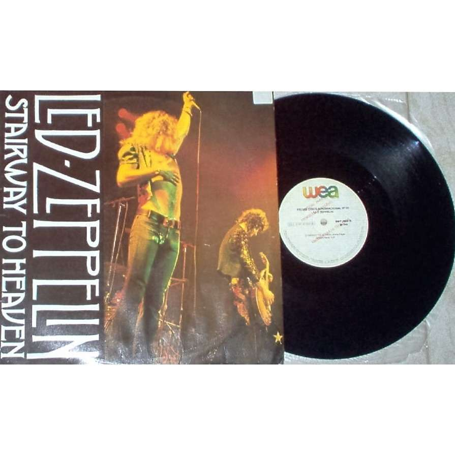 Led Zeppelin Stairway To Heaven (Brazil only 1990 Ltd 2-trk w/label 12ep promo unique ps)