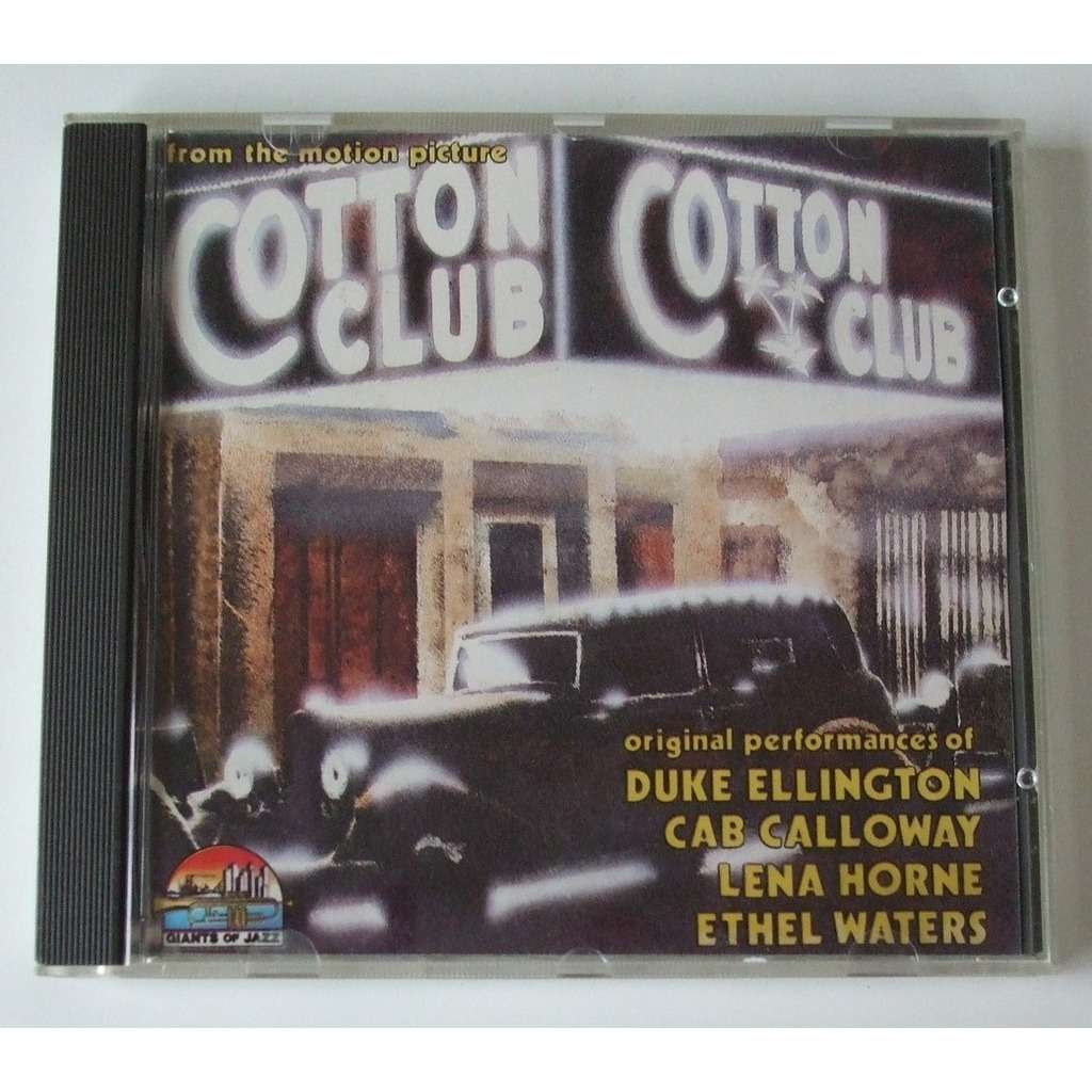 cotton club from the motion picture by cab calloway