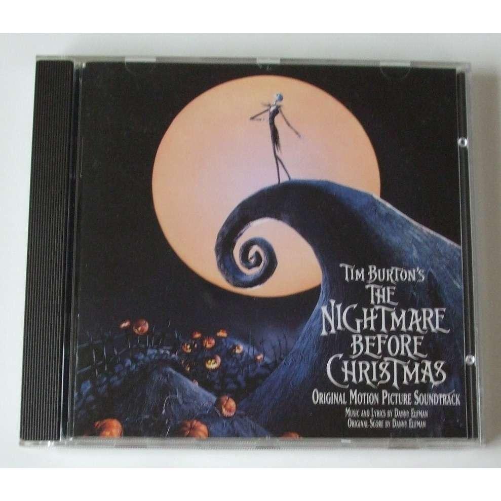 Tim burton\'s - the nightmare before christmas (original motion ...
