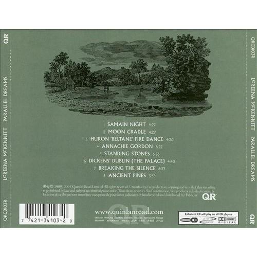 Parallel dreams by Loreena Mckennitt, CD with jimleb