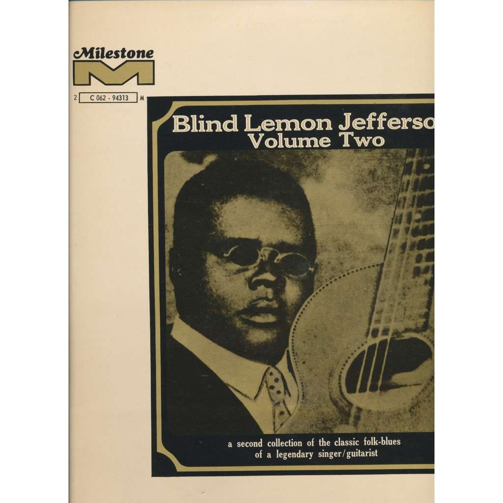 BLIND LEMON JEFFERSON volume 2