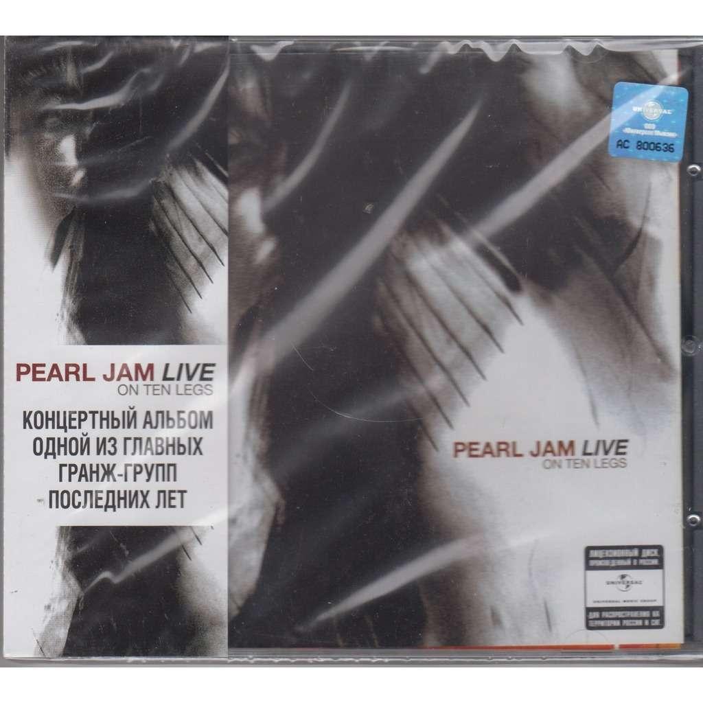 Pearl Jam Live On Ten Legs CD RUS NEW