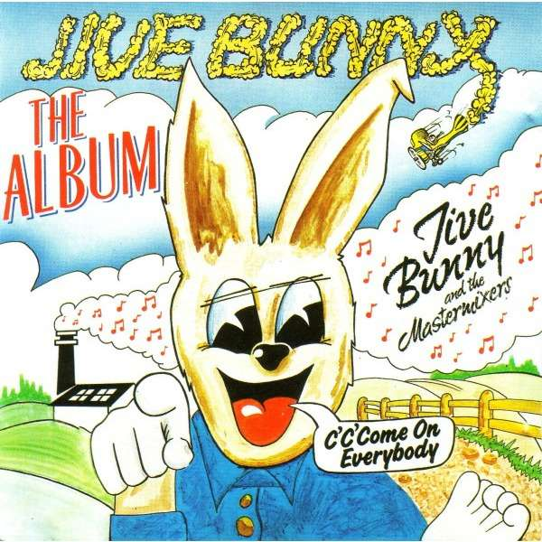 cd jive bunny and the mastermixers