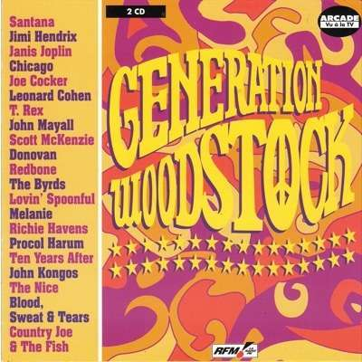 joe cocker and 27 Various Artists GENERATION WOODSTOCK ( Compilation 28 Tracks)