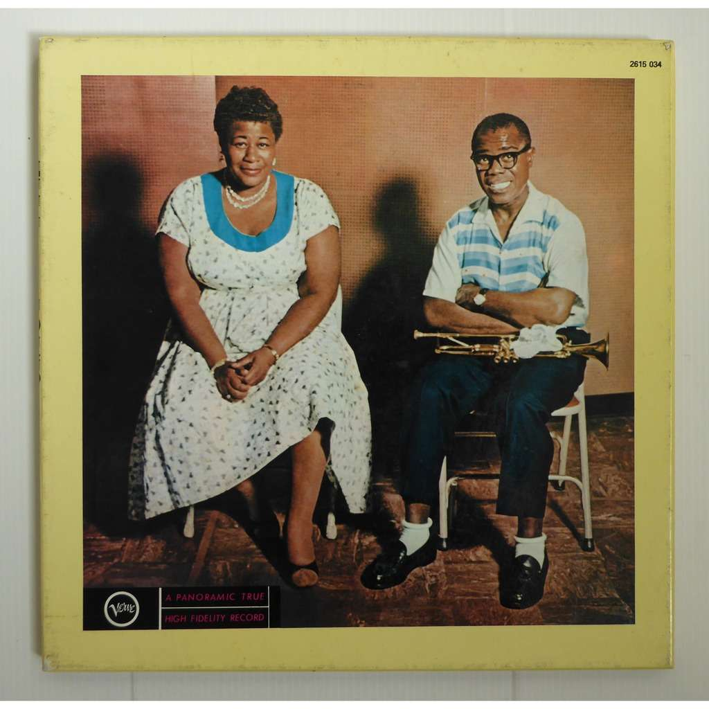 Ella And Louis By Ella Fitzgerald Amp Louis Armstrong Lp
