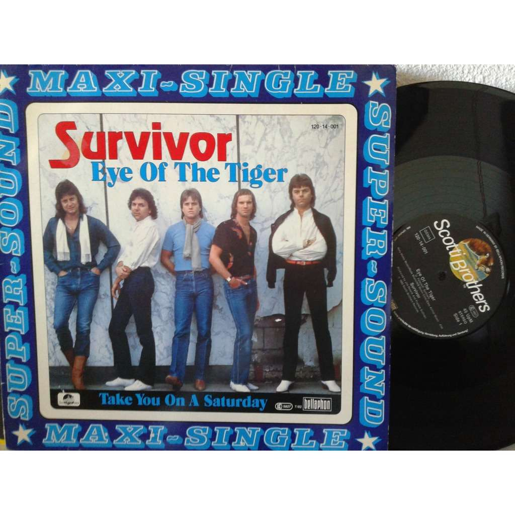 survivor eye of the tiger / take you on a saturday
