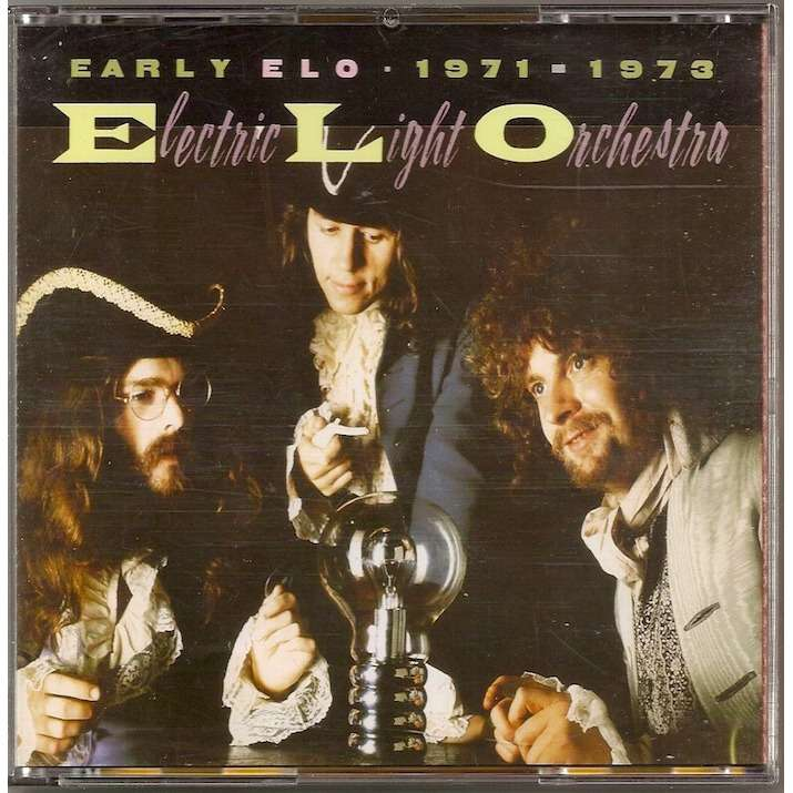 Early Elo 1971 1973 By Electric Light Orchestra Cd Box