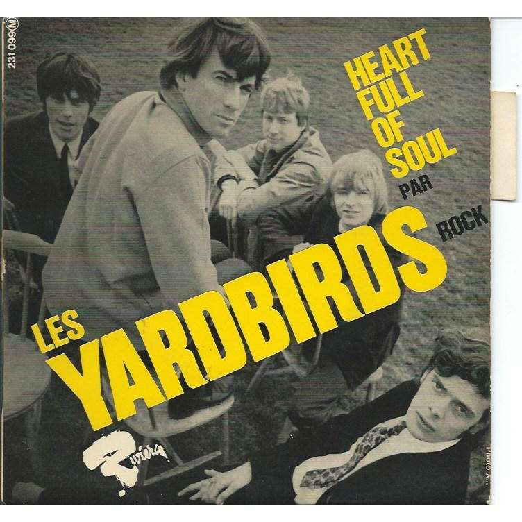 heart full of soul steeled blues my girl sloopy by yardbirds ep