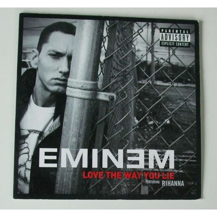 Love The Way You Lie By Eminem Feat Rihanna Cds With