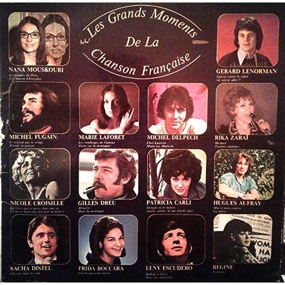 Various Les Grands Moments de la Chanson Française