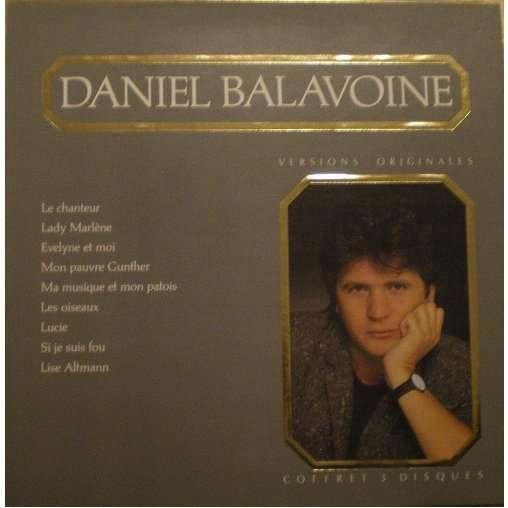 BALAVOINE Daniel Versions originales - Coffret 3 disques