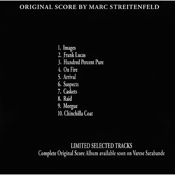 Marc Streitenfeld American Gangster