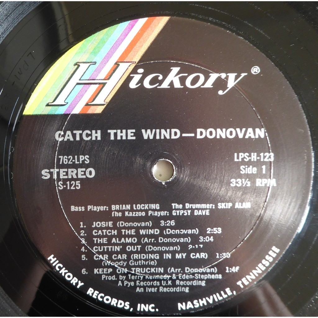 donovan Catch The Wind