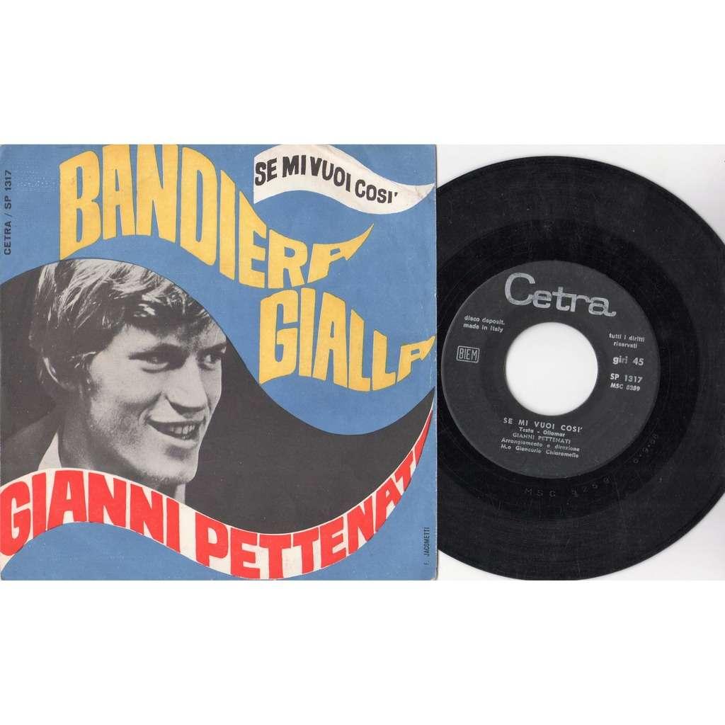 Gianni Pettenati Bandiera Gialla (Italian 1967 2-trk 7single on Cetra lbl full color ps)