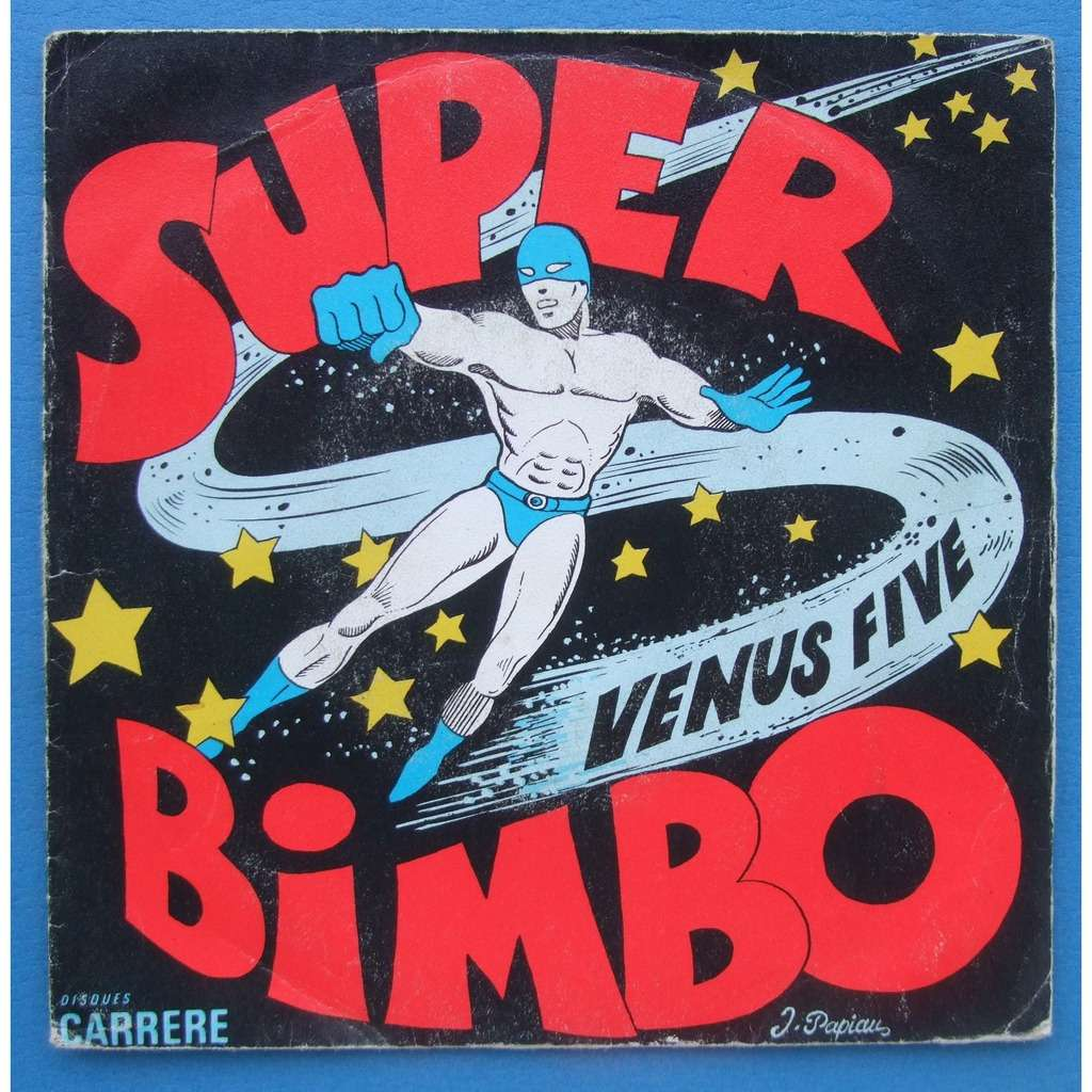 venus five super bimbo